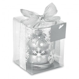 """Kalėdinė žvakė """"Glitterie"""""""