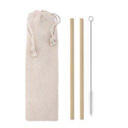 """Bambukiniai šiaudeliai """"Natural Straw"""""""